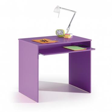 Mesa escritorio morado