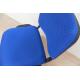 Silla confidente azul