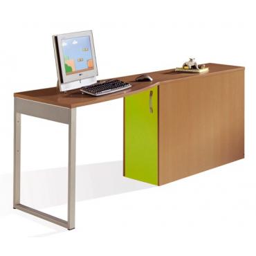 Mesa escritorio con arcón