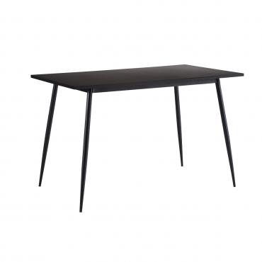 Mesa de cocina negra