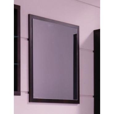 Espejo con marco wengue