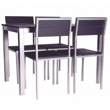 Conjunto Xobe Mesa+4 sillas