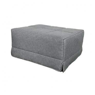 Pouf cama gris