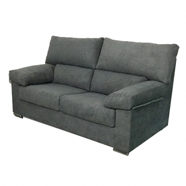 Sofa Paris 3 plazas gris