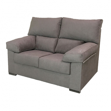 Sofa Paris 2 plazas marron