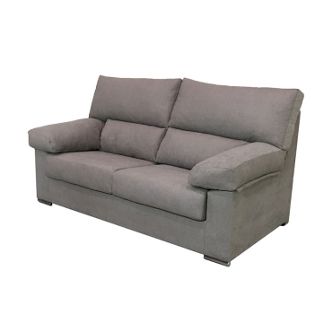 Sofa Paris 3 plazas marron