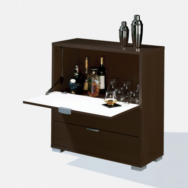 Mueble-Bar con barra