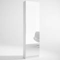 Zapatero con espejo Trend 1 puerta blanco 50x20x180 cm
