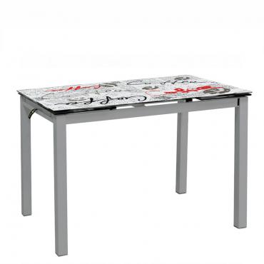 Mesa de cocina seligrafiada
