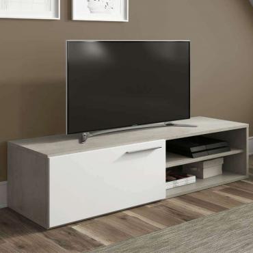 Mueble mesa TV Cemento estilo industrial
