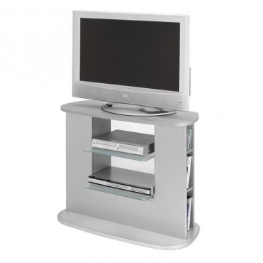 Mueble televisión color plata salón