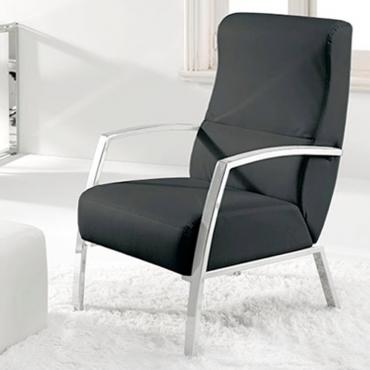 Butaca sillón en negro