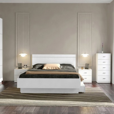 Cabezal cama blanco