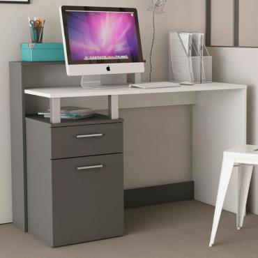 Mesa escritorio grafitop blanco