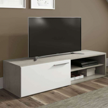 Mueble mesa TV Cemento estilo industrial