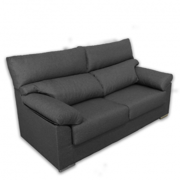 Sofa Lyon 3 plazas gris