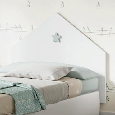 Cabezal infantil dormitorio Star