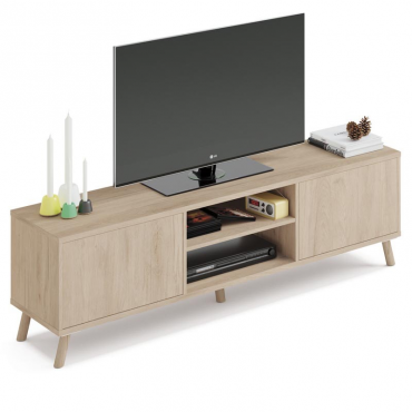 Mueble TV Noruega color roble