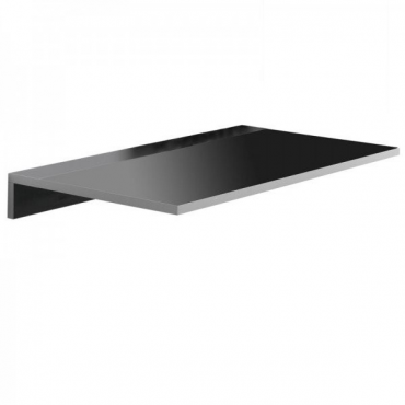 Mesa cocina de pared Vera color negro
