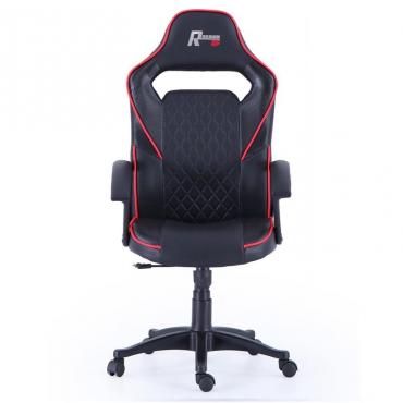 Silla Gamer Design negra y rojo
