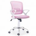 Silla escritorio rosa claro