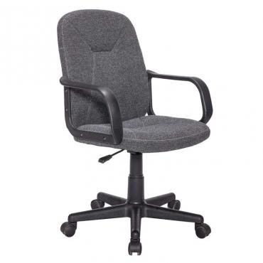 Silla oficina con ruedas gris
