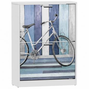 Zapatero 2 puertas Bicycle pasillo